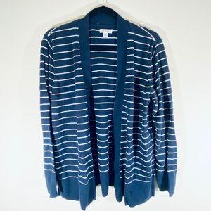 Croft & Barrow Striped Cardigan Sweater